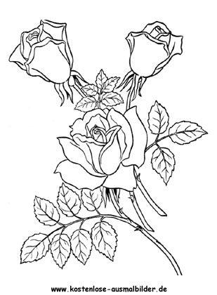26++ Rosen zum ausdrucken kostenlos ideen
