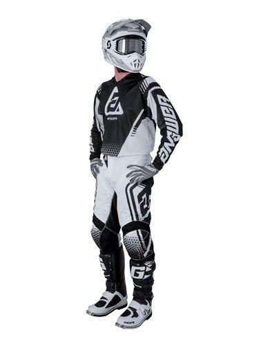 2017 Shift Racing Whit3 Air Gloves Black ATV Motocross Offroad 19098