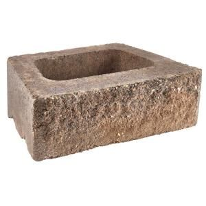 Pavestone Rockwall Small 4 In X 11 75 In X 6 75 In Palomino Concrete Retaining Wall Block 87581 Concrete Retaining Walls Retaining Wall Block Retaining Wall