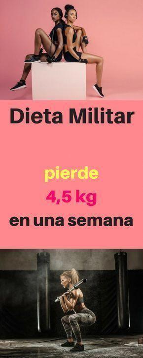 Dieta militar una semana