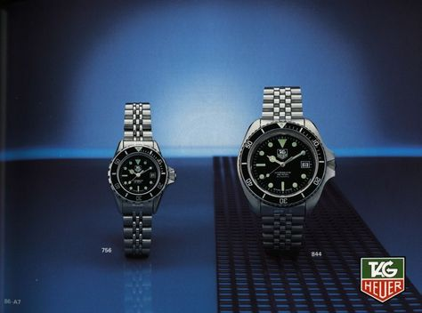 1987/88 Collection | TAG Heuer Watch Catalogues