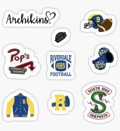 Riverdale Stickers Stickers Packs Riverdale Tumblr Stickers