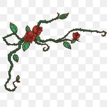 Rose Vines Png Modern Design Rose Vines Vine Drawing Cartoon Rose