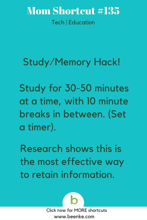 Study Hacks - Learn More Faster! - Beenke