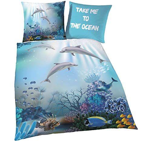 Affiliate Delfin Biber Bettwasche Set Fur Madchen Jungen