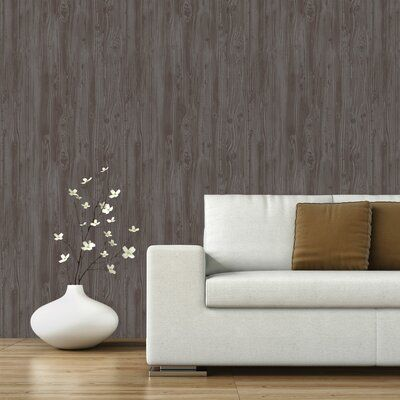 Gracie Oaks Perrytown 16 5 L X 20 W Removable Peel And Stick Wallpaper Roll Color Gray Peel And Stick Wallpaper Textured Wallpaper Wallpaper Accent Wall