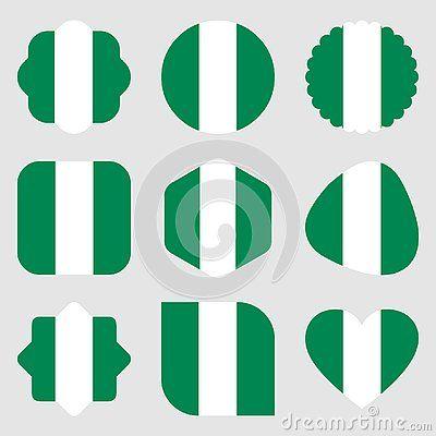 Flags Nigeria Africa Illustration Vector Eps Download Africa Logo Flag Svg Eps Psd Ai Vector Color Nigeria Art V Nigeria Africa Illustration Vector