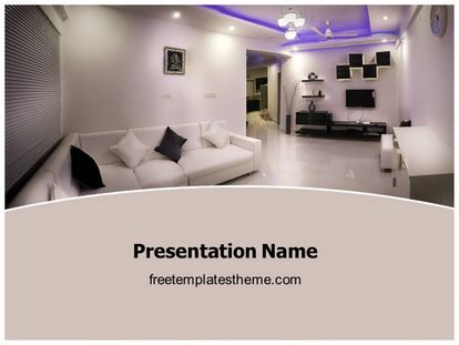 16 best free real estate powerpoint ppt templates images on get this free interior designing powerpoint template with different slides for toneelgroepblik Gallery