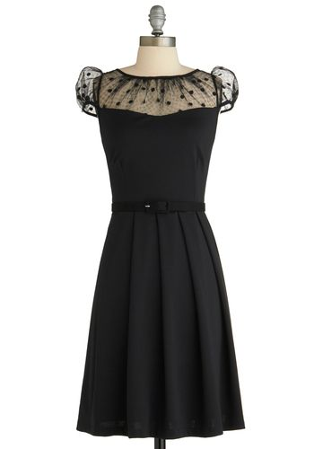 Just might be the perfect black dress