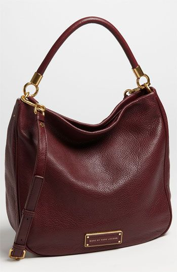 MARC BY MARC JACOBS 'Too Hot To Handle' Hobo available at #Nordstrom Got this in black- love it!!