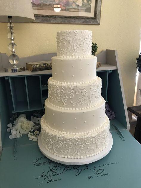 Fake Wedding Cakes, Amazing Wedding Cakes, White Wedding Cakes, Elegant Wedding Cakes, Orange Wedding, Wedding Cake Designs, Wedding Day, Dream Wedding, Wedding Cake White