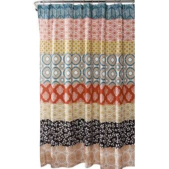 Haskell Boho Bouquet Single Shower Curtain In 2020 Boho Shower