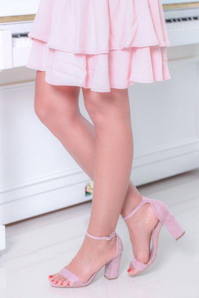 Fioletowe Sandaly Na Slupku Nozomi Obuwie Stiletto Heels Fashion Heels