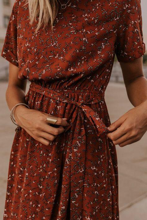 Floral Wrap Maxi - Modest Dresses | ROOLEE