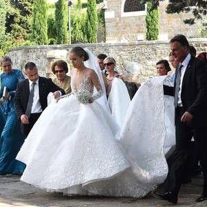Hochzeitskleid Heidi Klum Valentins Day Swarovski Hochzeitskleid Victoria Swarovski Hochzeit Hochzeitskleid