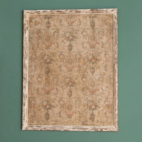 Distressed Dixieland Framed Wallpaper