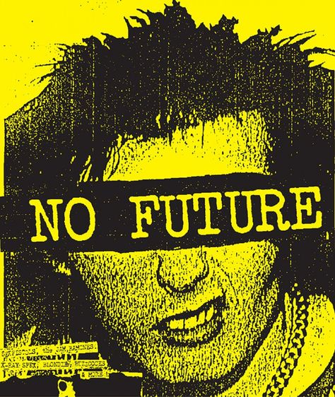 Classic punk poster by Art Chantry.