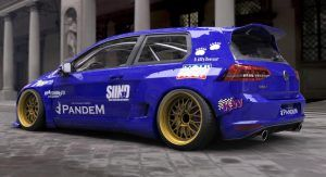 Tra Kyoto Rocket Bunny Golf Mk7 Is A Mad Tuning Exercise Vw