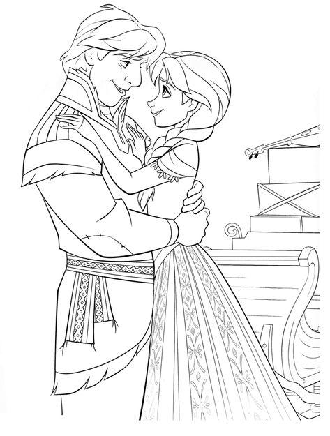 Frozen Princesas Para Colorear Dibujos De Frozen Frozen Para