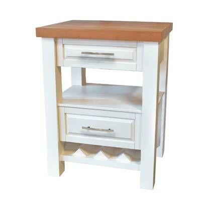 August Grove Eaglin Kitchen Island Set Reviews Wayfair Mattress Furniture Space Furniture Built In Wine Rack