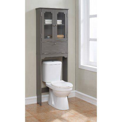 Runfine Group Etagere Bathroom Space Saver Over The Toilet Cabinet Bathroom Storage Over Toilet Toilet Storage