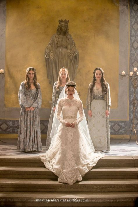 The wedding gown is fab!!