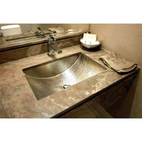 Hammered Undermount Bathroom Sink 22 best images about bathroom ideas on pinterest | rustic bathroom