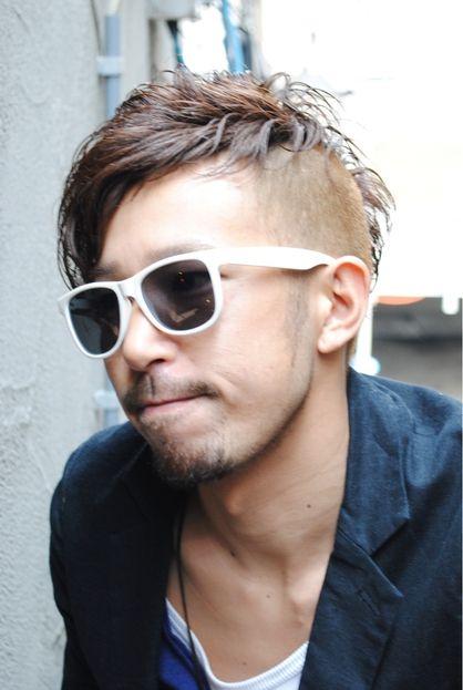 1番隊長 不死鳥マルコ風 アシメモヒカン Laissez 新松戸駅前店のメンズヘアスタイル メンズ ヘアスタイル ボーイズヘアカット 髪型 メンズ