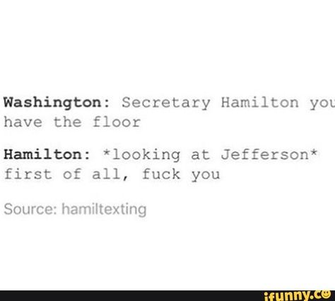 Because what else is there to say to Jefferson?