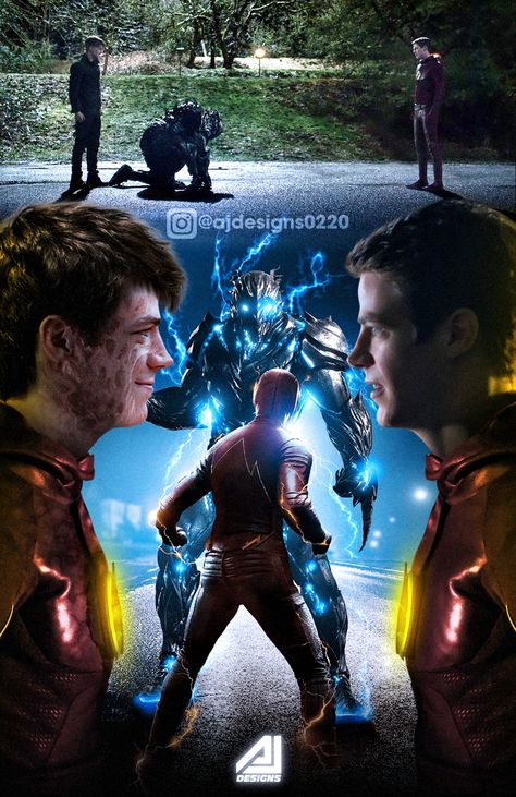 Future Flash (Savitar) Face To Face The Flash by ajay02 on DeviantArt