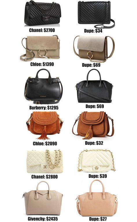 5674c105101031 Fashion blogger Mash Elle shares the ULTIMATE designer bag dupe guide! Over  20+ of the best designer dupes most under $50!