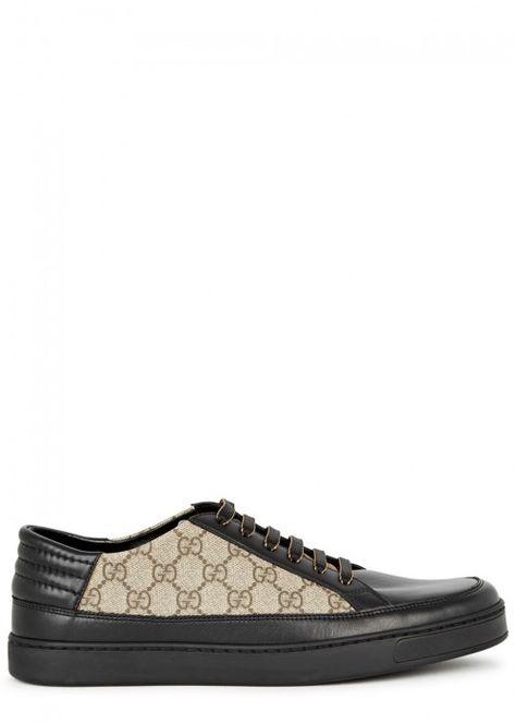 Gucci Common Gg Supreme Leather And