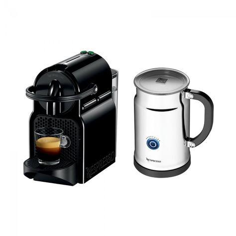 Nespresso Inissia Espresso Maker Aeroccino Plus Milk Frother