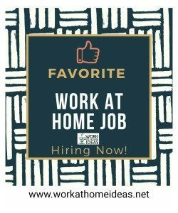 Favorite Work At Home Job Hiring Now Work From Home Jobs Hiring