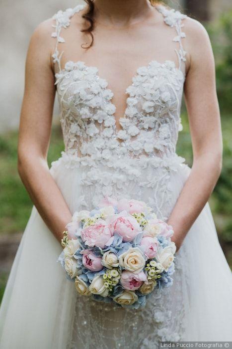 Bouquet Sposa Rosa Quarzo.Decorazioni Floreali Color Pastello La Scelta Soft Per Le Nozze