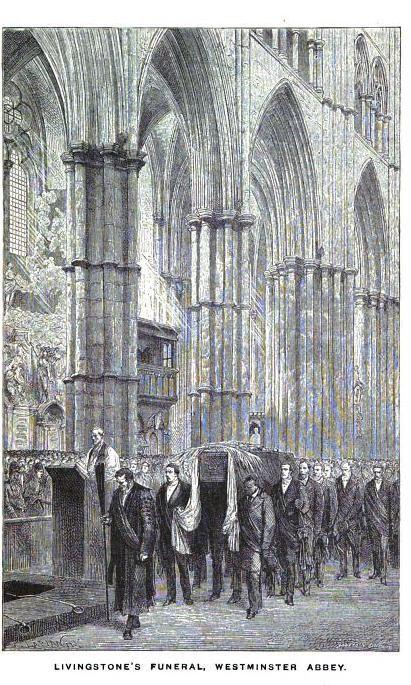 Funeral of David Livingstone at Westminster Abbey Africa - mr livingstone i presume