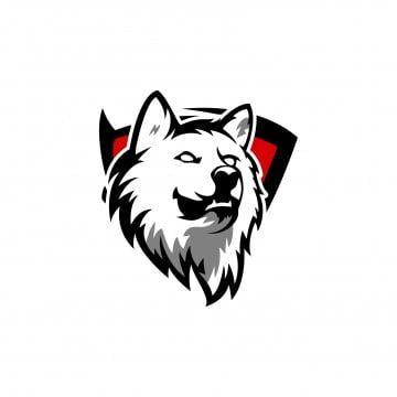 Esports Gaming Logo Wolf Team Lukisan Galaksi Serigala Gambar Serigala