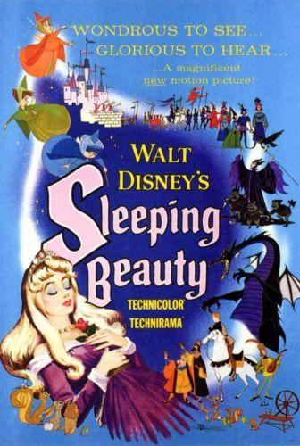 SLEEPING-BEAUTY-Movie-Poster-Licensed-NEW-USA-27x40-034-Theater-Size-DISNEY-1959