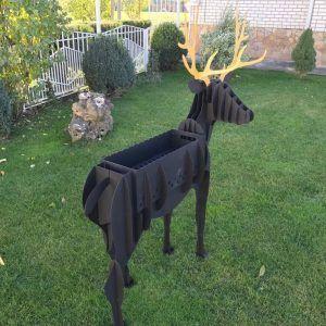 Deer BBQ GRILL CNC Plasma DXF Files Download | DXF CNC Files