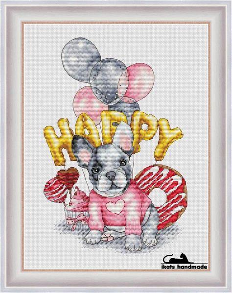 Love from the dog papier cadeau 4 feuilles /& étiquettes cartoon chien