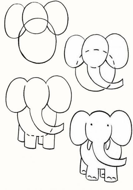 Drawing For Kids Elephant 38 Ideas Drawing Elephant Drawing