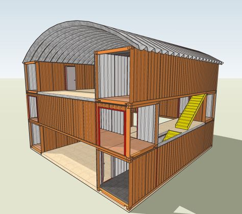 Cargo Container House Plans   Story Shipping Container Building   isoundlikethis