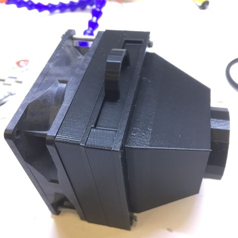 Solder Fume Extractor By Nisker Thingiverse 3d Printer Designs 3d Printing 3d Printer