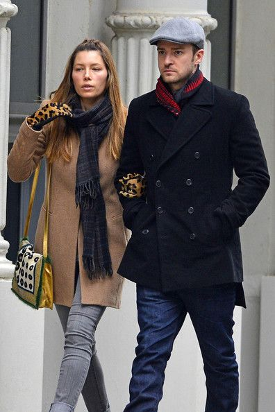 Justin Timberlake and his wife Jessica Biel took an arm-in-arm stroll through graffiti filled Soho together on March 1 in NYC.
