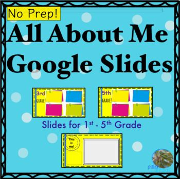 This Is A Google Template Ready For You To Share With Your Students There Are 6 Slides That Students Can Use To Te Google Slides Google Slides Template Slides