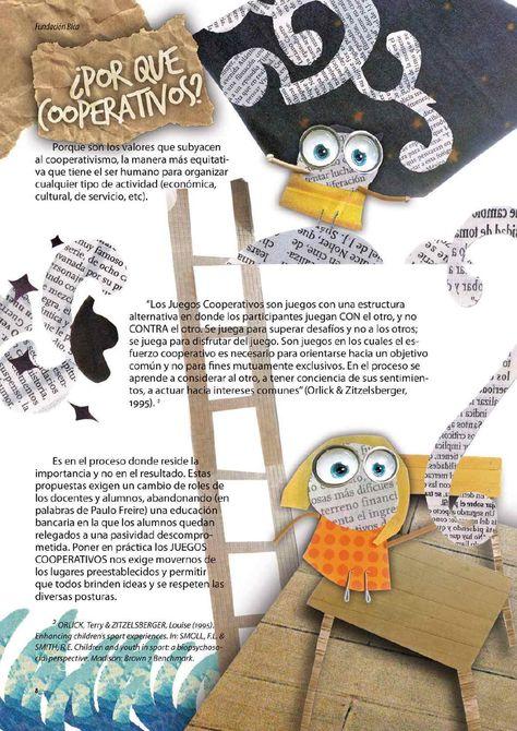 Revista Juegos cooperativos - Fundación Bica  http://www.fundacionbica.org.ar/