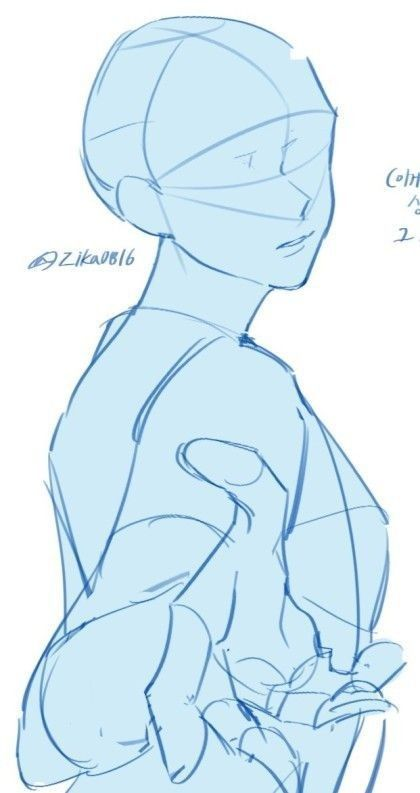 Anime Anatomy In 2020 Anime Poses Reference Art Reference Poses Art Reference