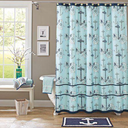 Home With Images Nautical Shower Curtains Nautical Bathroom Decor Outhouse Bathroom Decor