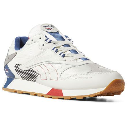 Reebok Workout Plus Vintage Sneakers ChalkClassic WhiteRoyalClassic Red