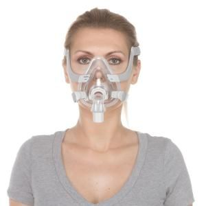 Resmed Airfit F20 Full Face Cpap Mask With Headgear 63401 Cpap Mask Sleep Apnea Remedies Cpap